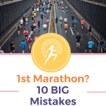 runners in marathon mistakes to avoid first marathon