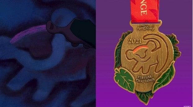 runDisney Virtual Series Challenge Medal 2021