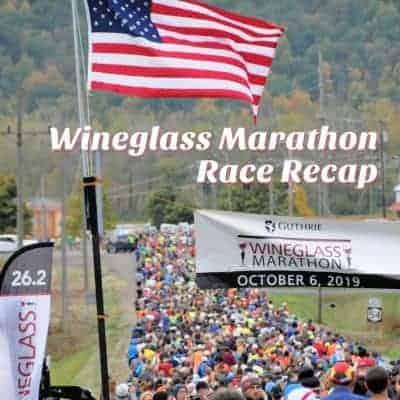 Wineglass Marathon Race Recap