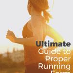 female running in sunshine