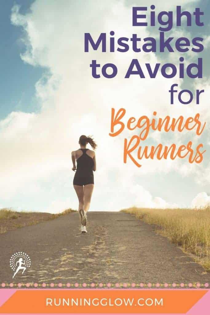 female beginner runner country road