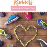heart shoe laces plus running shoes