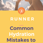 common hydration mistakes made by runners