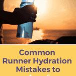 female runner hydrating