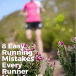 female runner nature trail