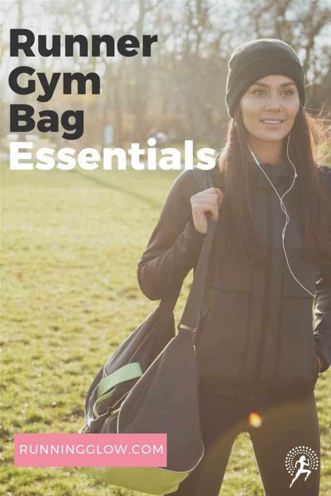 female runner gym bag essential