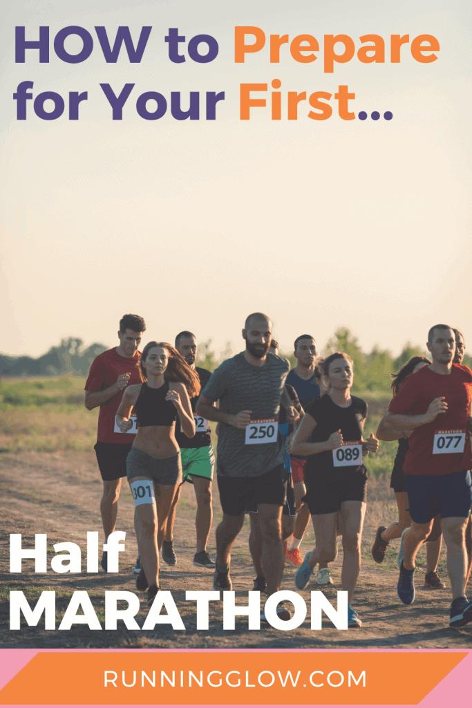 half marathon race with some new, beginner runners