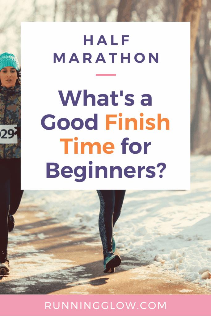 half marathon finish time beginners