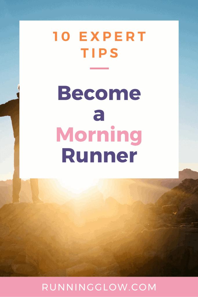 sunrise morning run