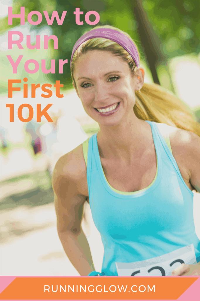 female runner 10K race
