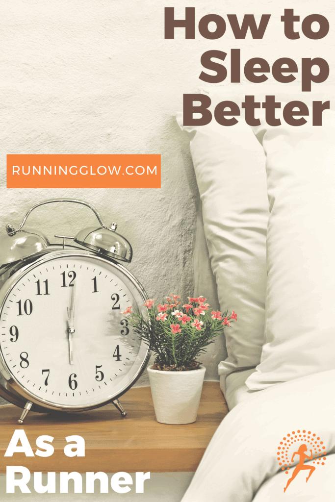 alarm clock near bed sleeping tips runner