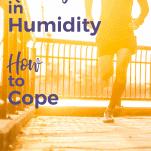 man running in humidity