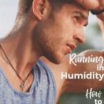 sweaty male runner