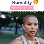 sweaty runner in humid weather