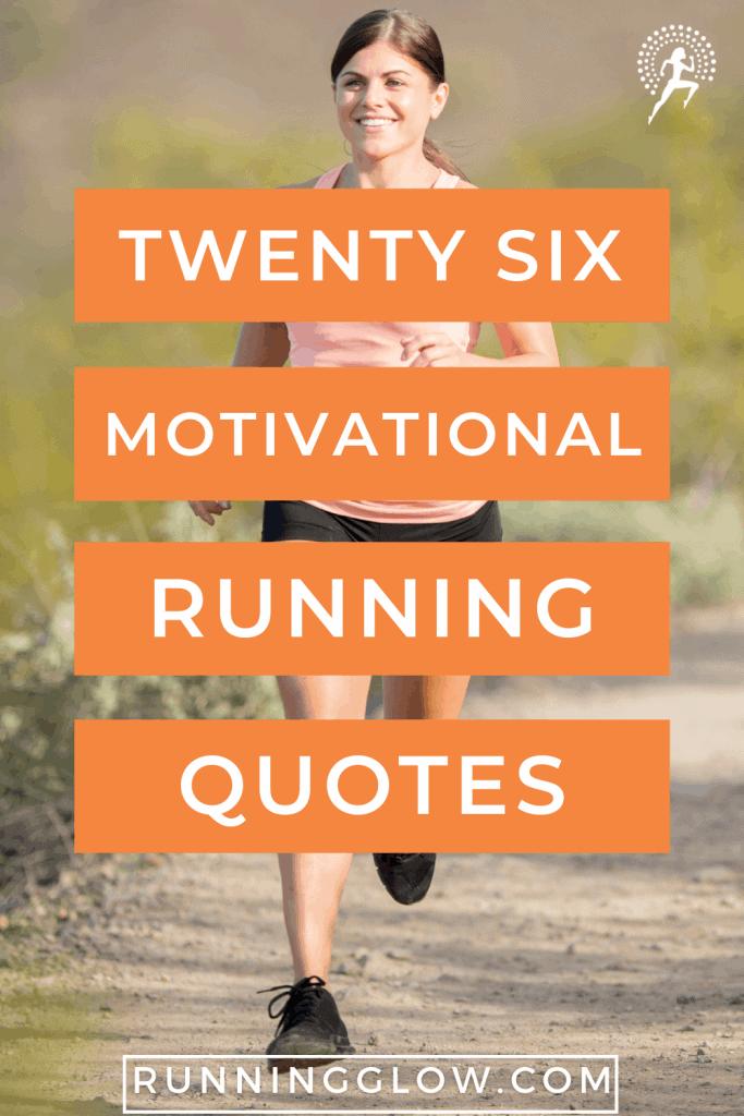 female runner outside motivational run quotes