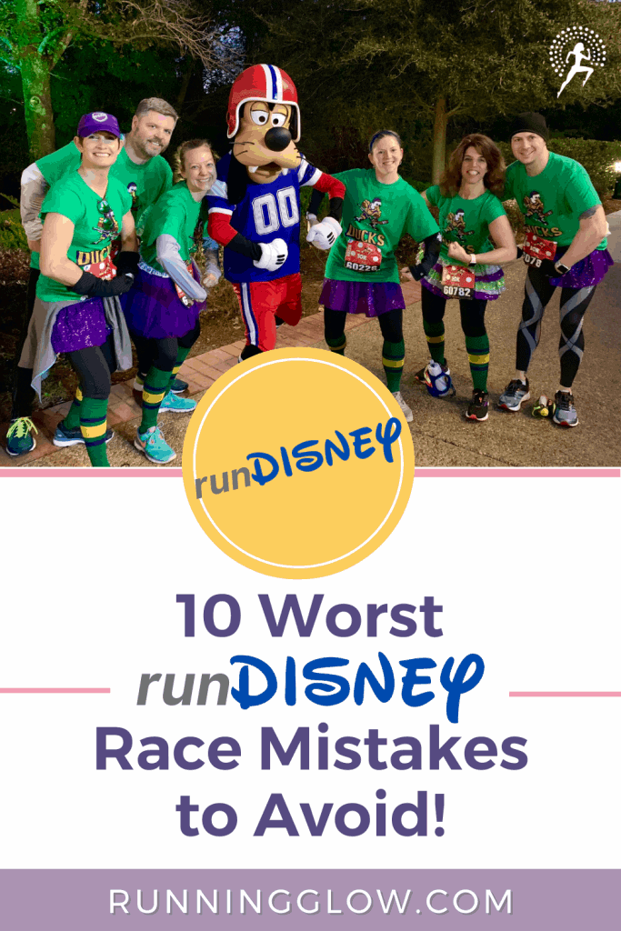 runDisney race participants Disney Marathon weekend with Goofy