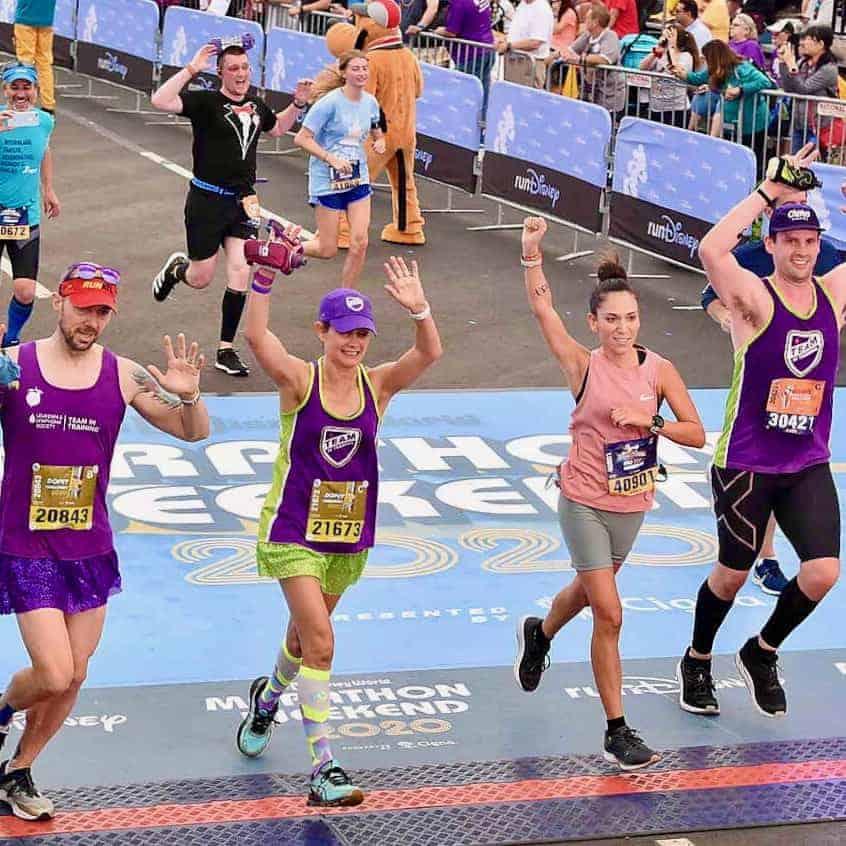 rundisney marathon weekend finish line
