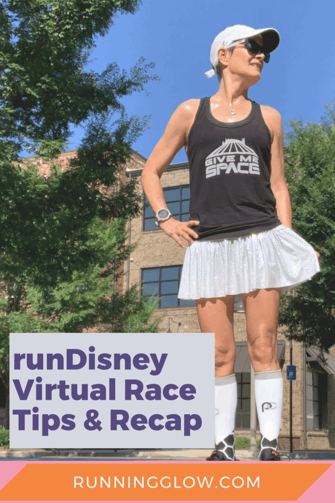 female runner rundisney virtual race summer series