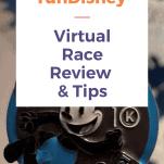 rundisney virtual race medal oswald