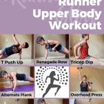 runner upper body workout female