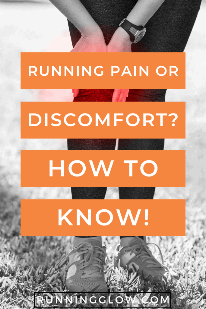 runner holding knee due to pain or injury