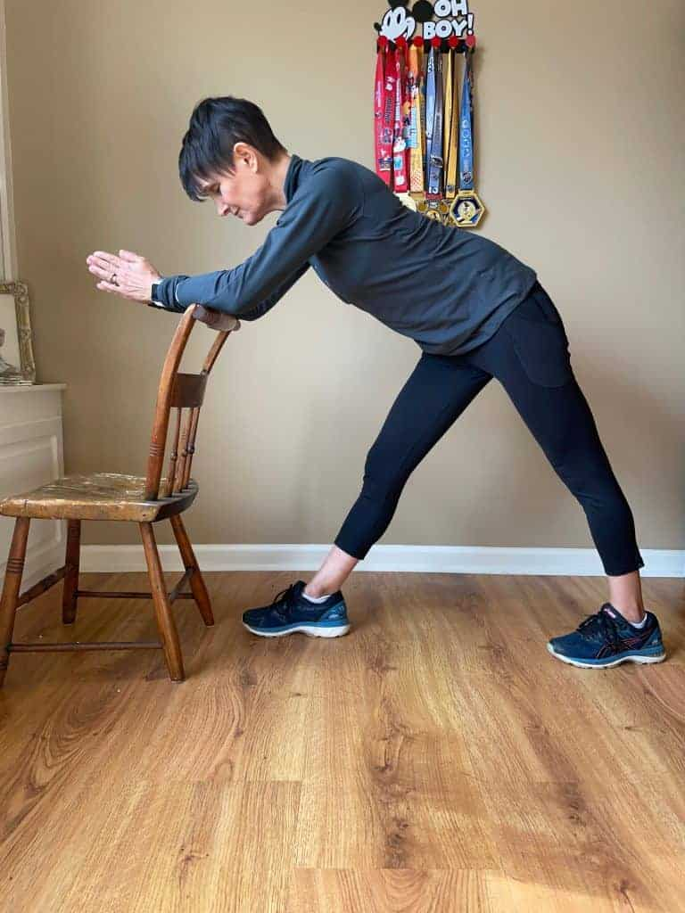 desk stretch runner triangle supported