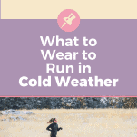female runner in cold weather